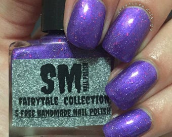 30% OFF!! Huge Stock Clearance SALE!! Royal Butterfly/Purple Nail Polish/Purple Cream Nail Polish