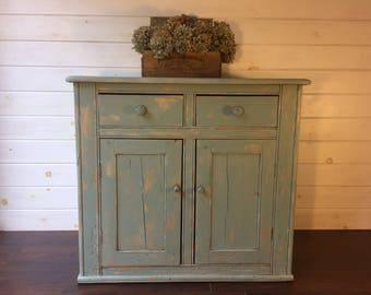 Antique Swedish Pine Dresser, painted, Local Alexandria VA Pick Up