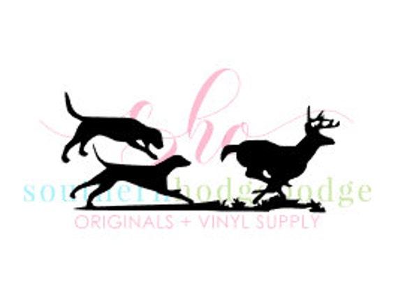 walker dogs running deer svg design svg file svg design dogs chasing racoon dogs racoon coon dog svg deer svg silhouette