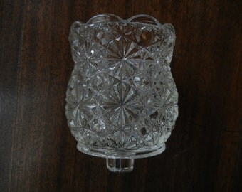 Daisy and Button Peg Votive or Candle Cup