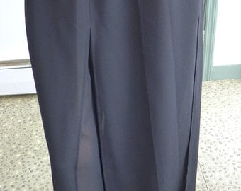Elegant Day or Evening  Ronni Nicole by Ouida Sheer Black Dress Pants (S-M) Excellent!