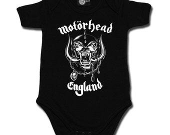Baby rompers, Motorhead England