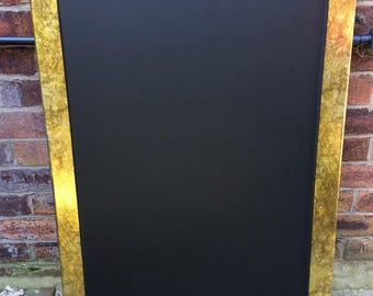 Gold marble effect chalkboard in a lovely large size
