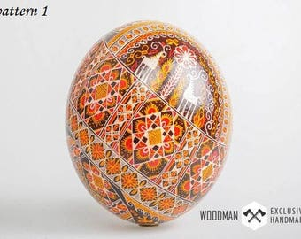 Ostrich egg, Painted ostrich egg, Easter Eggs, Easter Painted eggs, Pysanka, Ukrainian Easter egg, hand painted egg,