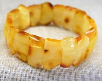 Amber bracelet, baltic amber, amber jewelry, Baltic amber bracelet, Baltic amber butterscotch  bracelet, amber, gift for men and women