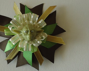 Star Wars Hair Bow : Yoda