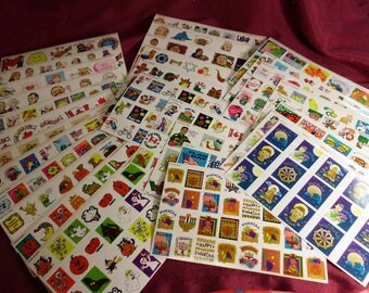 31 Sheets of Highlights for Children Holiday Stickers US and International Holidays Hundreds of Individual Stickers Colorful Teacher Supply