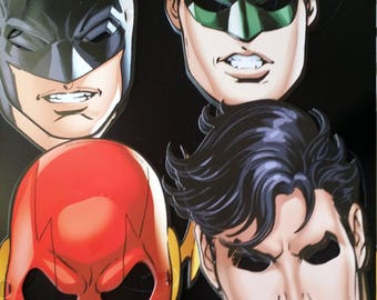 JUSTICE LEAGUE MASKS
