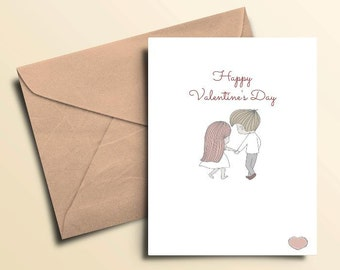 Valentine Couple Card