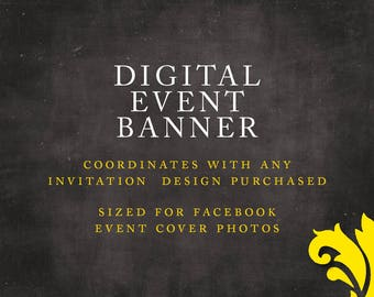 DIGITAL EVENT BANNER . cover photo