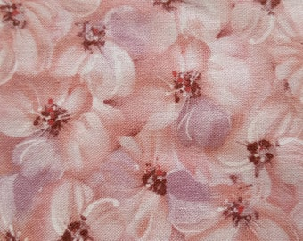 Dogwood Floral, Tulle & Petals Coordinate, 100% QSQ Cotton ~ Fabri-Quilt, Sold By the Yard, 1 of 4 Coordinating Fabrics