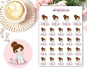 Amelie kawaii PLANNING planner stickers || Erin Condren Life Planner, Kikki K, Plum Paper Planner