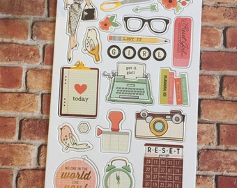 The Reset Girl Chipboard Pack