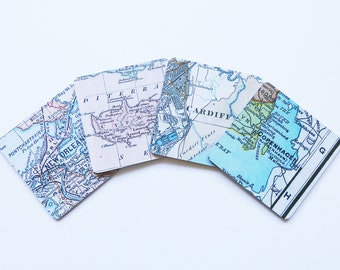 Map Coasters - Choose your Location