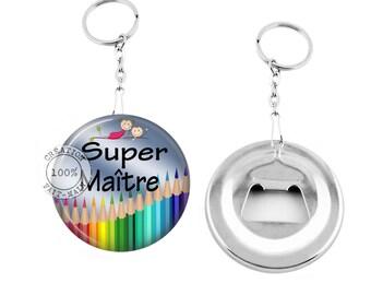 Keychain bottle opener/great master/Teacher, school
