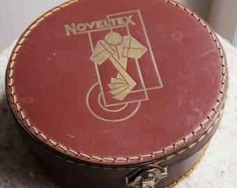 Box round cardboard - brand Noveltex - France
