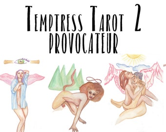 Temptress Tarot 2: Provocateur Deck LIMITED SIGNED 3.5 by 5.5 EDITION