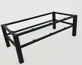 metal table base coffee table steel table legs steel table base welded