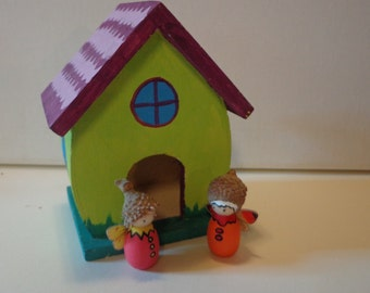 Peg Doll Gnome Fairy Home: Play house