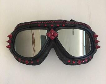 dust goggles byz3  Burning Man Goggles, Aviator gogglesAnti-Dust Gogglesrave wear