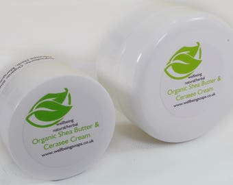 Organic Shea Butter & Cerasee Cream (100ml)