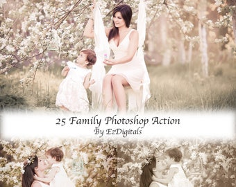 25  Photoshop Actions for Family Photographers, Mommy and me