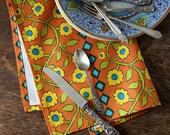 Roses and Diamonds Tea Towel Designed by Kristin Nicholas
