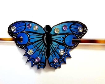 Butterfly Bun Pin