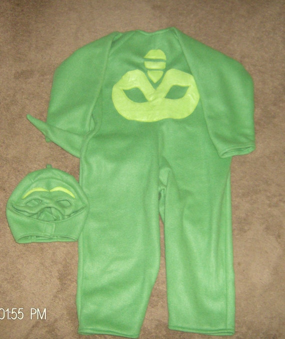 Fleece Gekko Costume