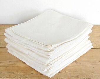 Vintage linen kitchen towels set monogrammed MB.Swedish homespun home woven towel.Country farmhouse kitchen towel rustic.Vintage linen tea t