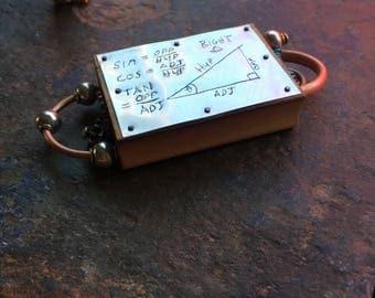 Math Formula Steampunk Fidget Trig