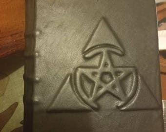 Leather Bound 400 Page Book of Shadows