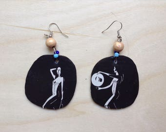 The Dancer Organic Earrings