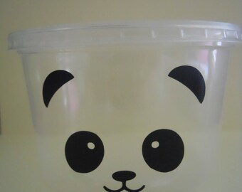 Panda Treat Cup, Panda Treat Bag, Panda Party Favor, Panda Birthday Party, Panda Baby Shower, Panda Theme, Panda Party Decoration