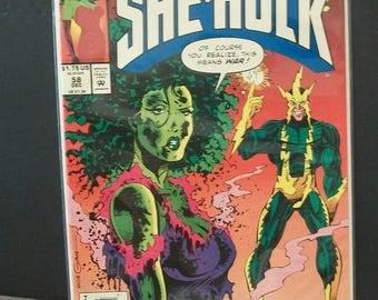 1993 The Sensational She-Hulk #31  She Hulk Battles Electro  VF-NM Vintage  Marvel Comic Book