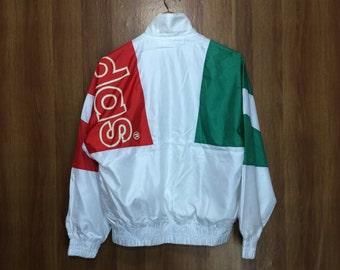 Rare vintage 80s ADIDAS Trefoil Windbreaket Jacket