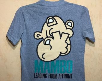 MAMBO Macro Fibre T-shirt Copyright 1998 Made In Australia