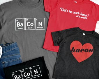 Graphic Tees for Bacon Lovers!
