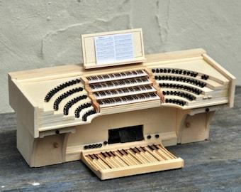 ähnlich Cavaille Coll Spieltisch - Miniatur-Orgelmodelle in Handarbeit gefertigt
