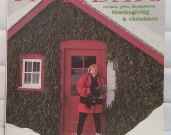 Martha Stewart  living  Holidays  book