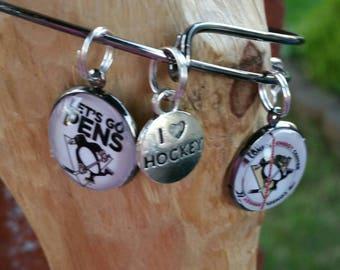 Custom 1 charm wire bracelet