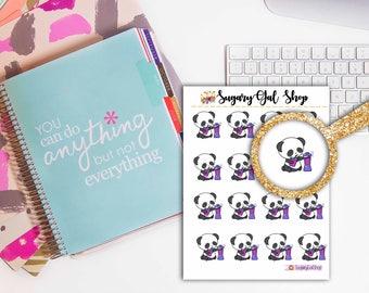 Pandi the Panda Smoothie Sticker Sheet