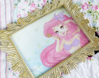 Original with photo frames Disney Arielle from Arielle, the mermaid inspired