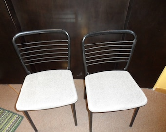 Vintage Cosco folding card table chairs