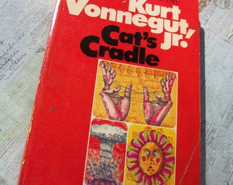 "Vintage 1970 ""Cat's Cradle"" by Kurt Vonnegut Jr. Paperback"