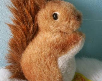 STEIFF Kecki squirrel ! Collectible plush toy 1980s