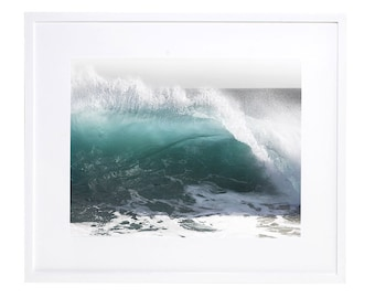 Wave Photography, Digital Download, Rolling Wave, Crystal Cove Wave, Printable, Ocean Photography, Nature Landscape