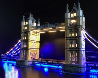 LED Lighting kit for LEGO 10214 Tower Bridge