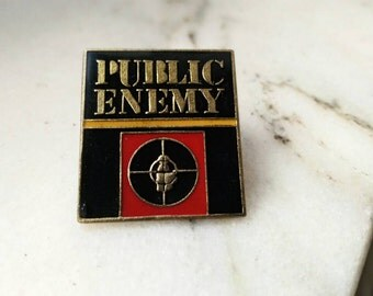 Public Enemy , pins vintage rare .
