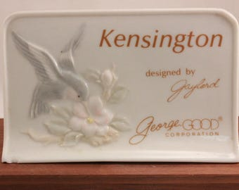 "Hummingbird ""Kensington Advertising Display 5""by 3"" Designed by Gaylord A George Good Corporation"